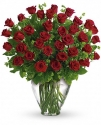 t61-1c my perfect love - long stemmed red roses