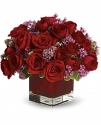 t65-1a never let go by teleflora - 18 red roses