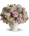 t67-3b teleflora parisian pinks with roses